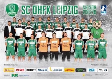 SC DHfK 1. Bundesliga Männerhandball 2017/18