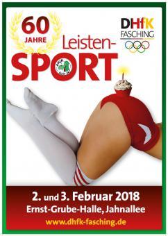 DHfK-Fasching 2018: 60 Jahre Leistensport! – 02.02.2018 (Fr), 20:00