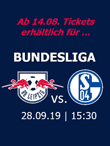 RB Leipzig Heimspiele Saison 2019/2020 – 25.08.2019 (So), 15:30 – RB Leipzig - Eintracht Frankfurt