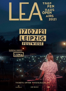 LEA - Treppenhaus Open Air 2021 – 17.07.2021 (Sa), 19:30 Uhr