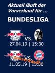 RB Leipzig Heimspiele Saison 2018/2019